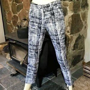 Denver Hayes blue & white MIA Tie Dye Pants 10